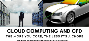 Cloud computing and CFD – The more you core, the less it's a chore