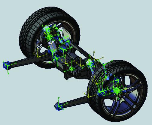 Image of rear suspension