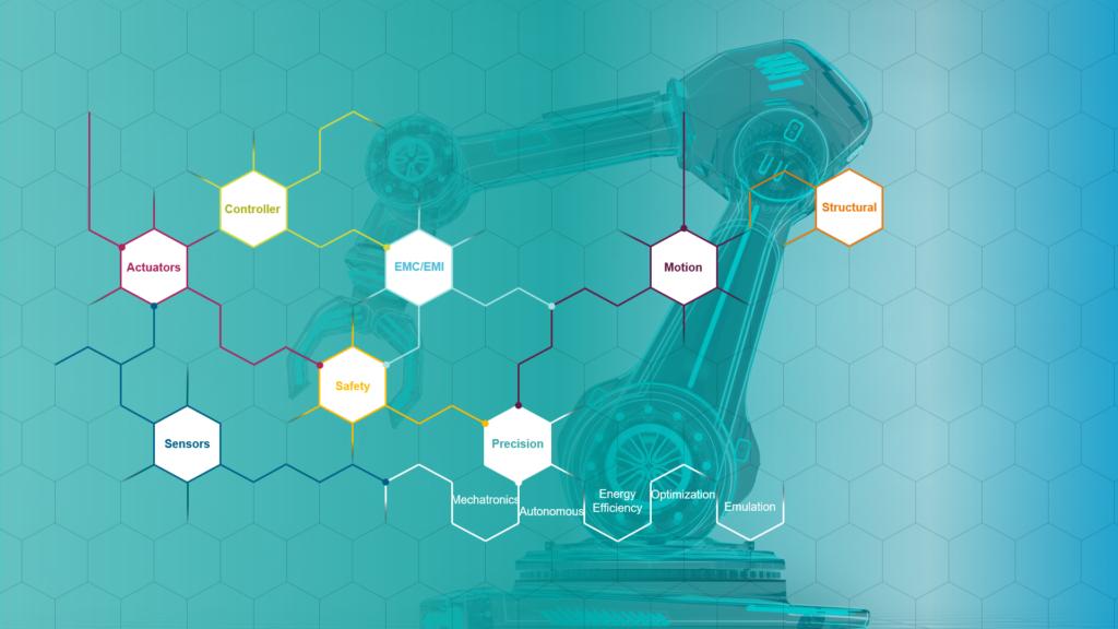 Robotics engineering using simulation and testing solutions.