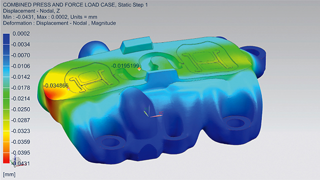 Image of model of new mold to be produced via additive manufacturing (2)