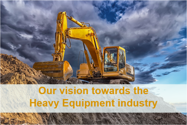 simcenter vision and offer towrads the heavy equipment market