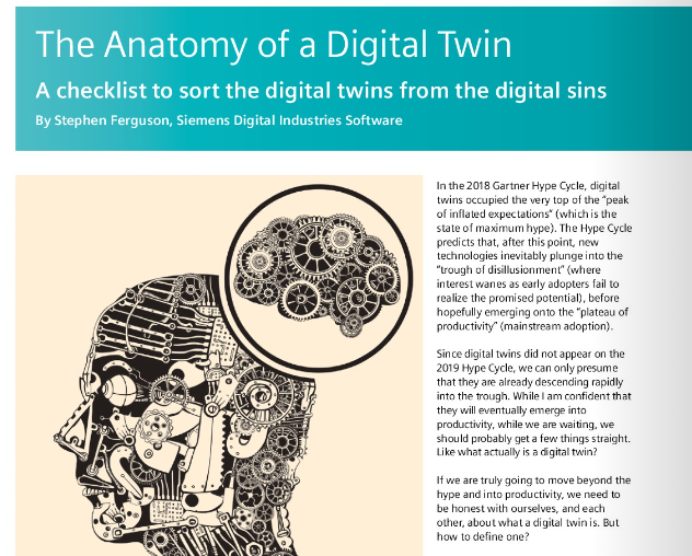 Anatomy of a Digital Twin