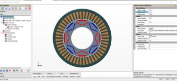 Simcenter Motorsolve Motor Design Software