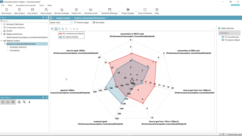 Simcenter system simulation new features