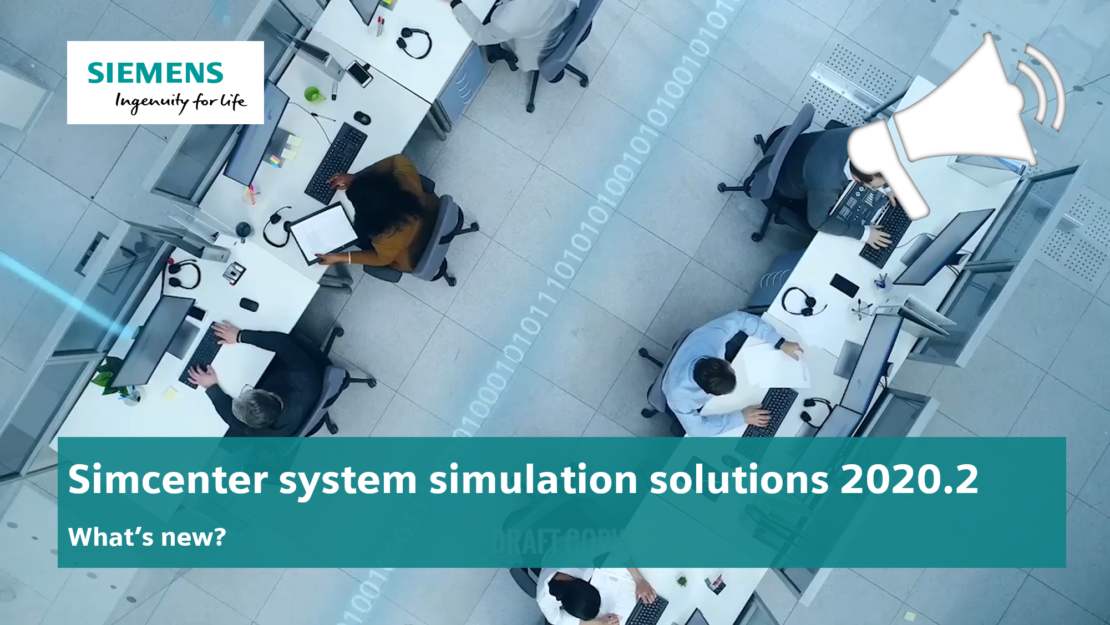 Simcenter system simulation new version