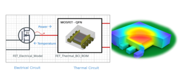 The future of thermal design - earlier electrothermal analysis