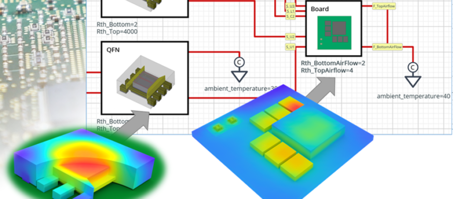 Simcenter Flotherm 2020.2 software release - faster joule heating, electrothermal modeling and more