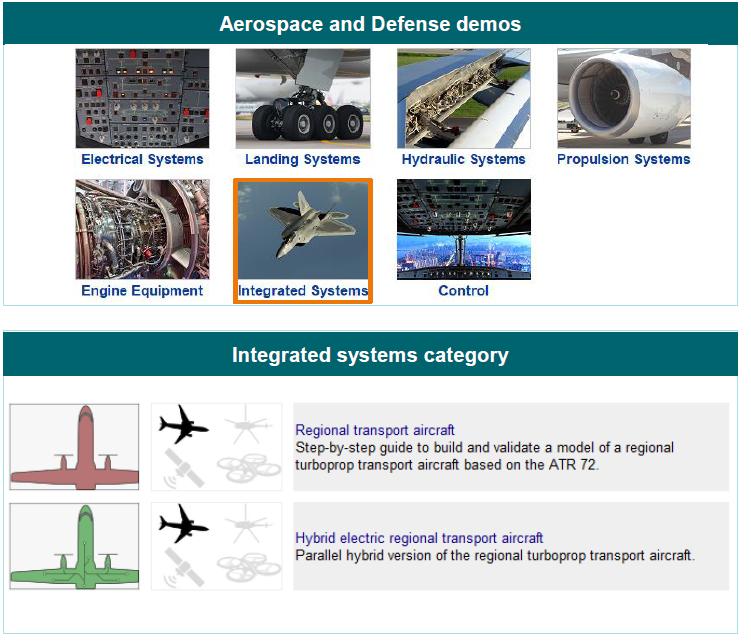 new demos for regional transport aircraft