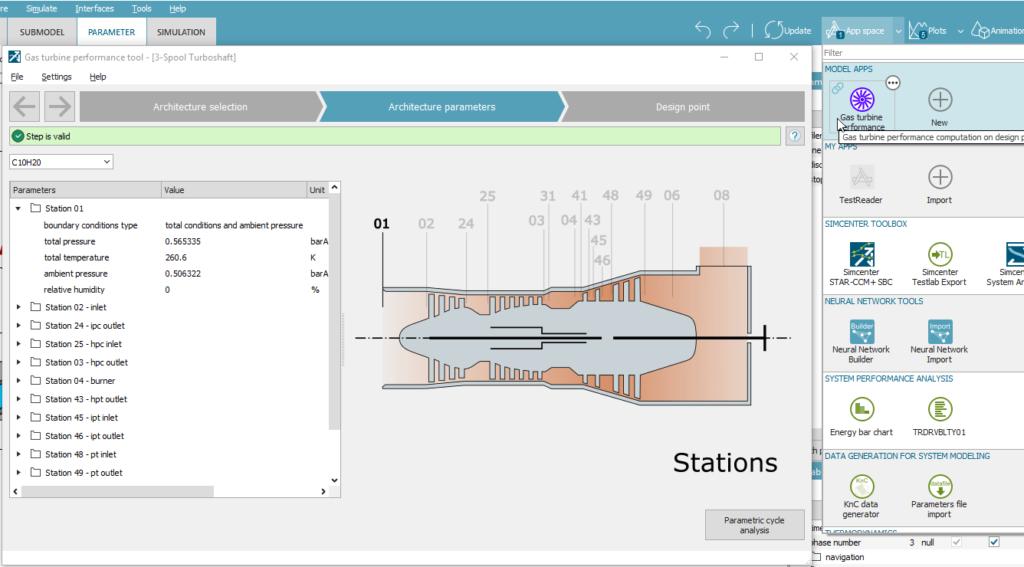 Gas turbine performance tool