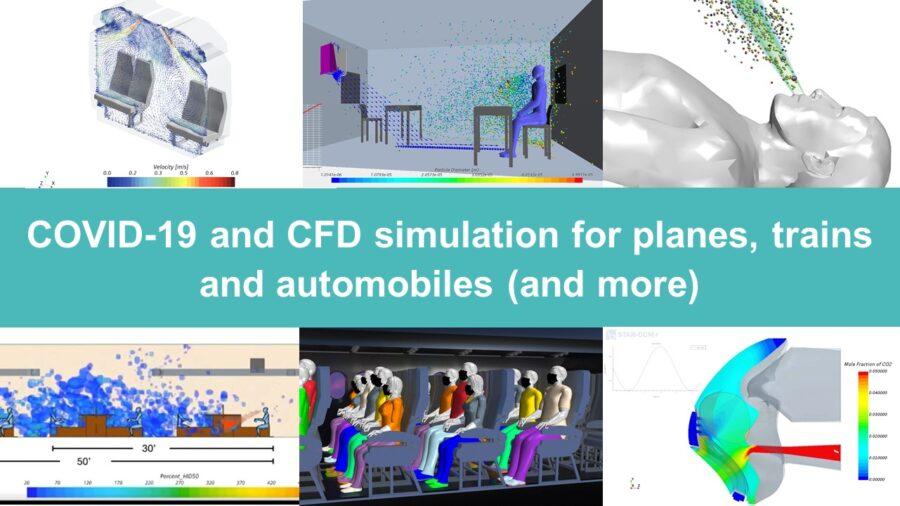 Covid-19 CFD simulation
