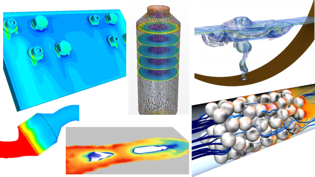 A selection of reacting flow applications covered by Simcenter STAR-CCM+