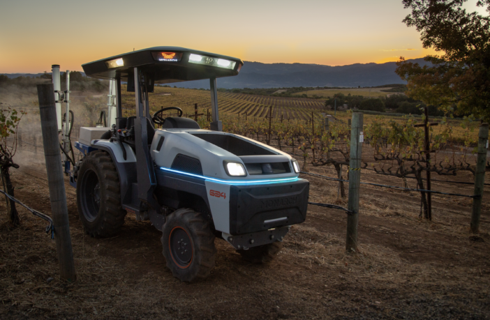 autonomous Heavy Equipment Monarch tractor