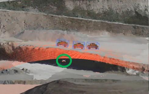 environment recognition for autonomous heavy equipment simulation