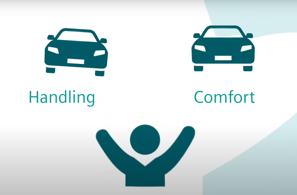 Find the right balance between handling and comfort
