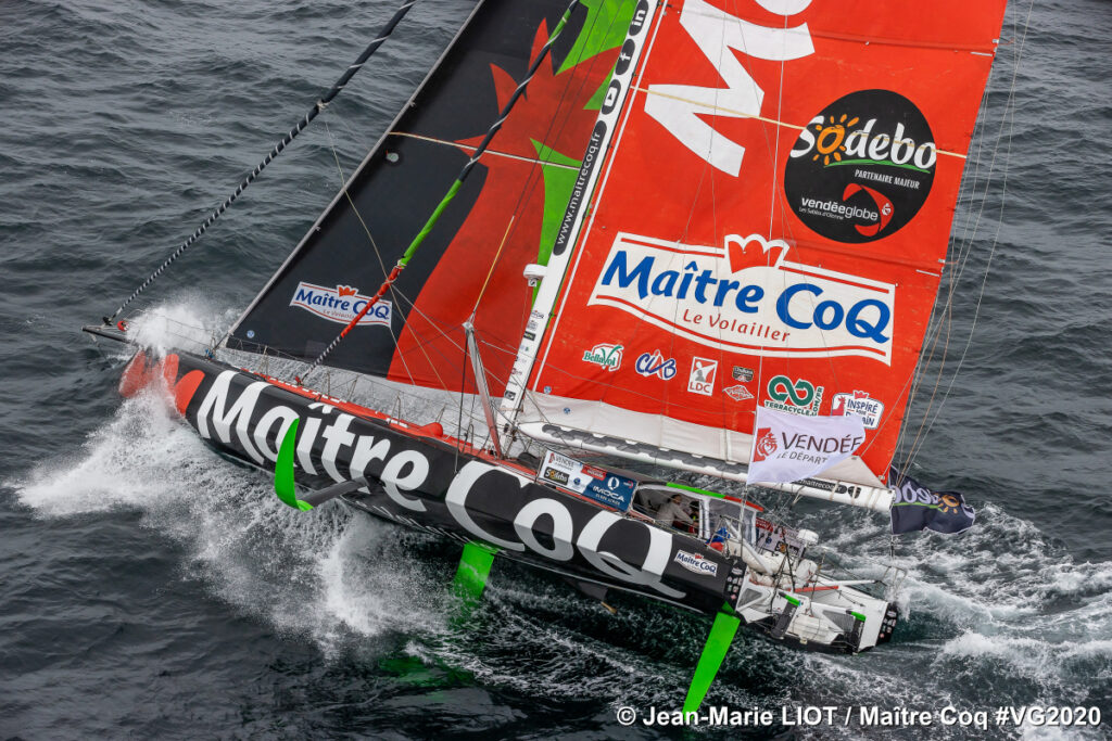Yannick Bestaven, Maitre CoQ IV skipper, was the overall winner of the 9th Vendée Globe.