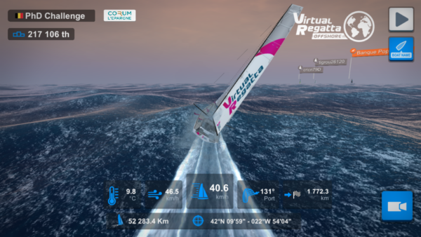 The Virtual Vendée Globe attracted more than one million virtual sailors.
