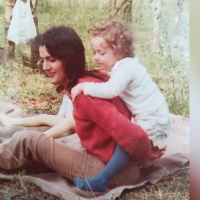 Emanuela and her mum