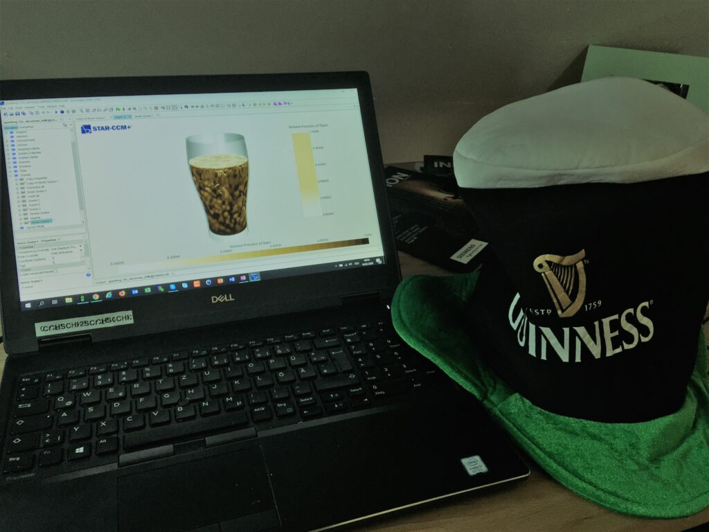 World's first virtual Guinness crafted by a CFD tool