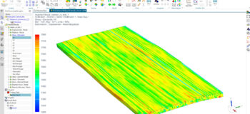 Composite Materials Performance Evaluation - using a fast, virtual testing tool