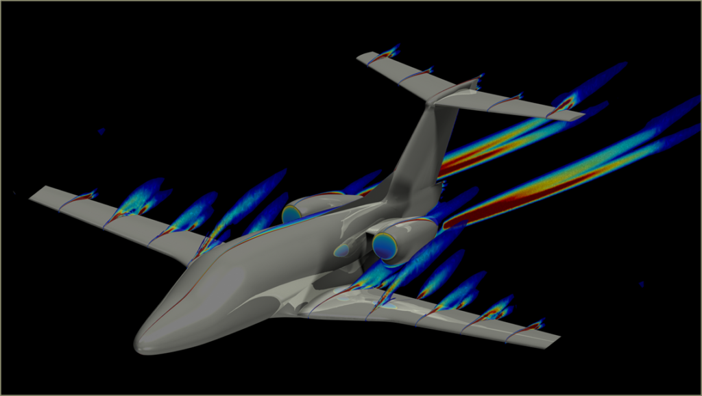 One aviation uses aerospace CFD in the cloud  to improve business jets