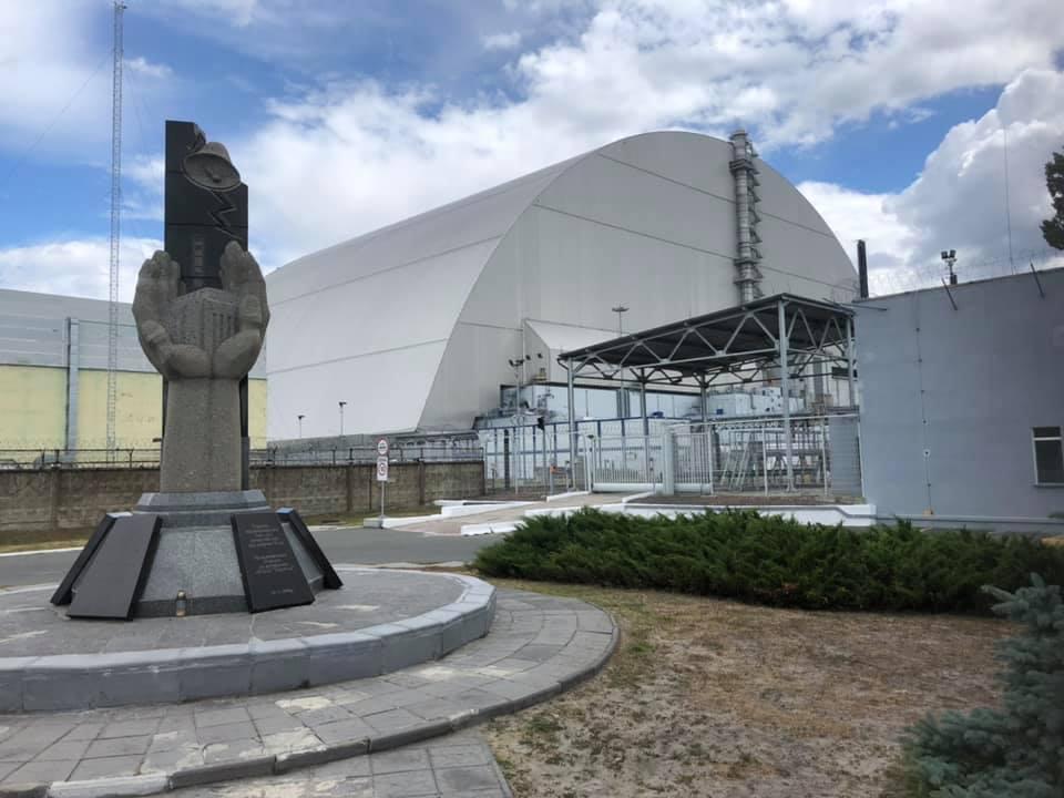 Chernobyl monument