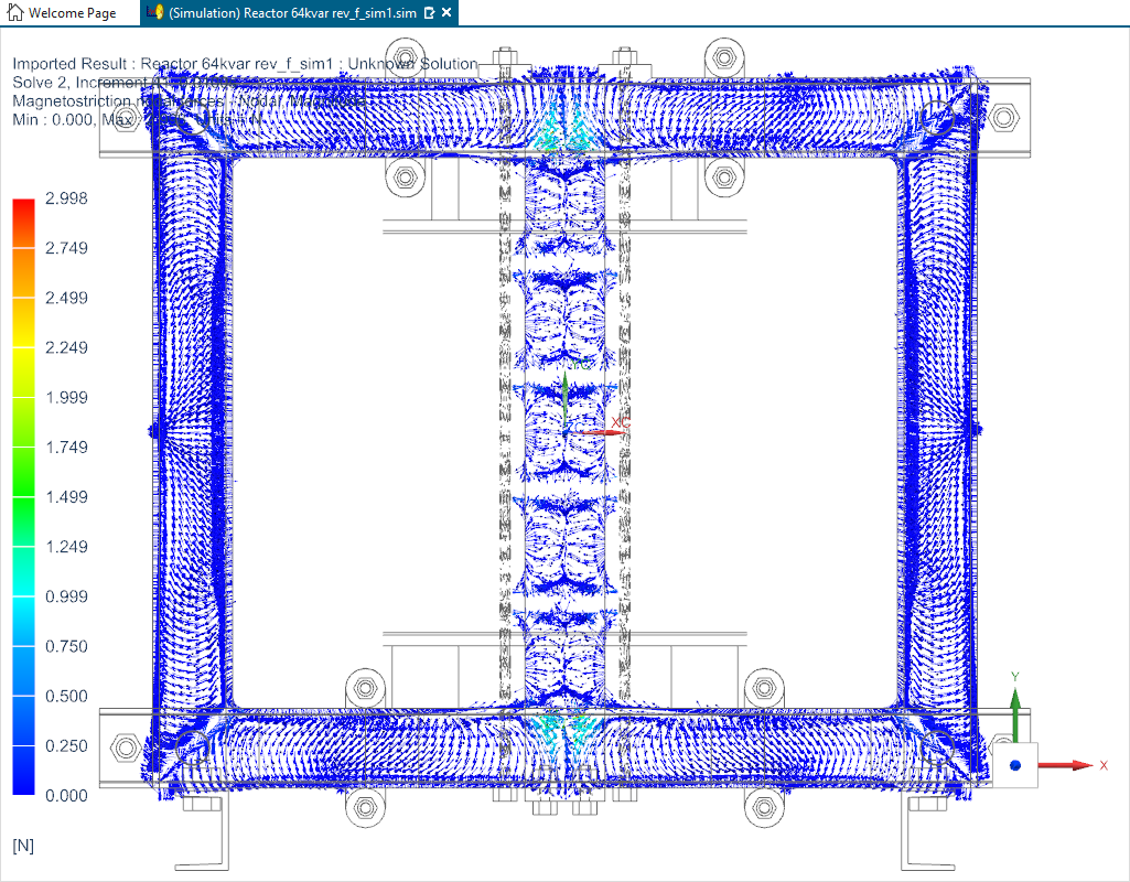 The forces can be exported for further NVH analysis in Simcenter 3D or other structural analysis software.