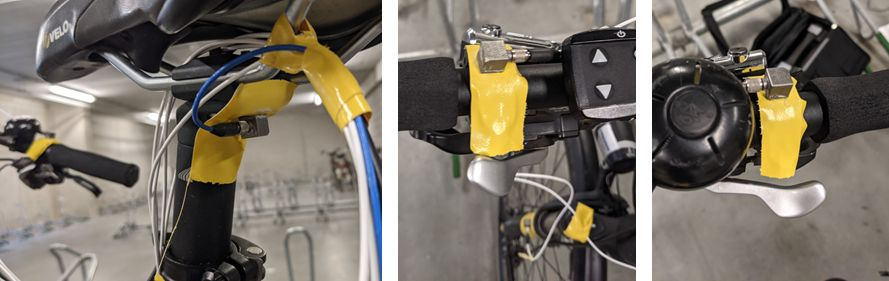 Sensors for e-bike ride comfort