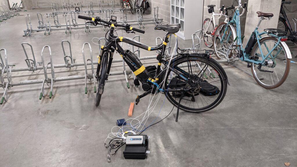 Instrumented e-bike