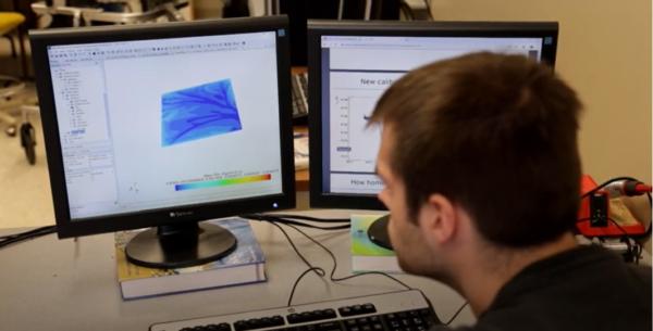 Student from South Dakota State University using Simcenter STAR-CCM+