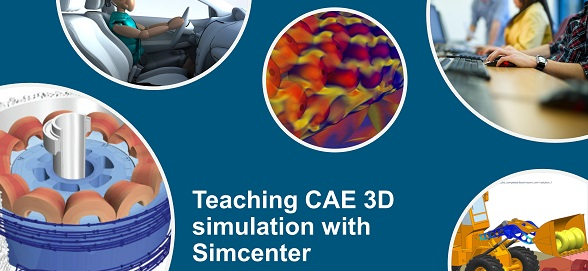 CAE 3D simulation teaching