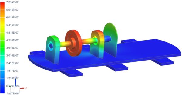 rotor deformation