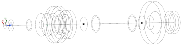 1D Nelson rotor model axisymmetric rotor dynamics