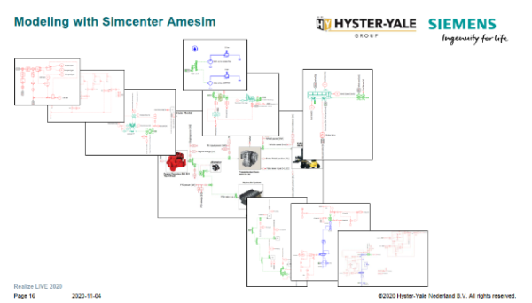 Modeling the conventional truck systems using system simulation before electrification