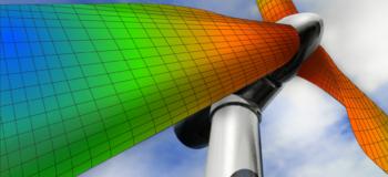 Windmill FEA simulation in Femap 2021