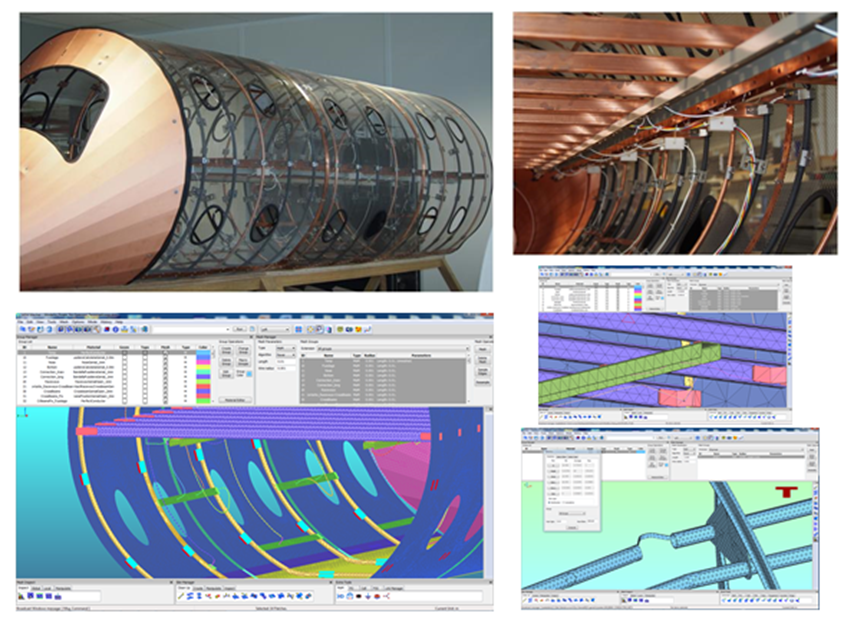 Example of Fuselage Mock -Up for Lighting Tools validation (Courtesy of SAFRAN - Labinal)