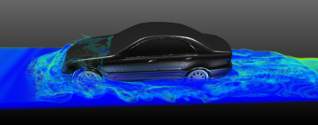 Observing EV wading - vehicle water management using CFD