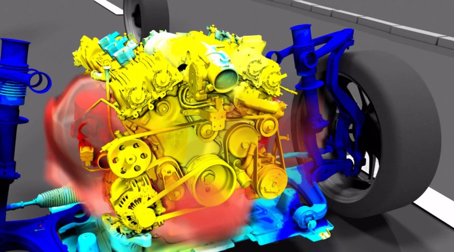 Vehicle thermal management CFD