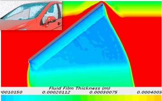 Wiper motion model - vehicle water management