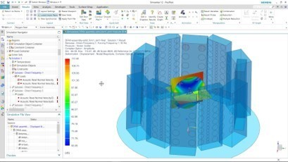 DFAN as a service set up in Simcenter 3D.