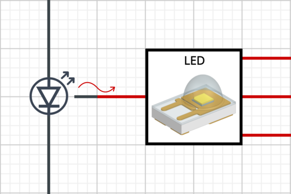 BCI-ROM from Simcenter FLOEFD in a circuit simulation environment: thermal and electrical components are connected together