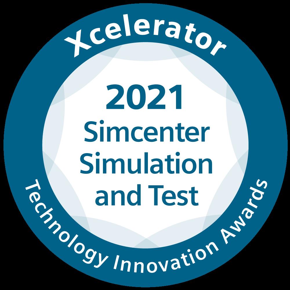 Xcelerator Technology Innovation Awards Simcenter Simulation and Test