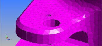 mesh body in Simcenter Femap