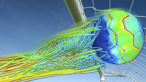 Simcenter Simulation of Soccer Ball Aerodynamics