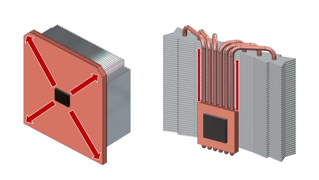 Vapor chamber vs heat pipes