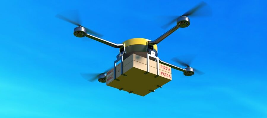 Delivery drone noise