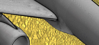 Anisotropic Meshing on a Wing