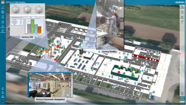 Tecnomatix Intosite NG Factory