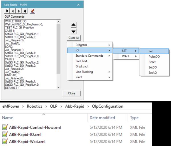 ABB Rapid XML