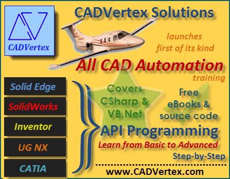 CAD Vertex Solid Edge customization