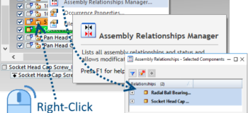 Right-Click Commands in Solid Edge Part 2 - Assembly